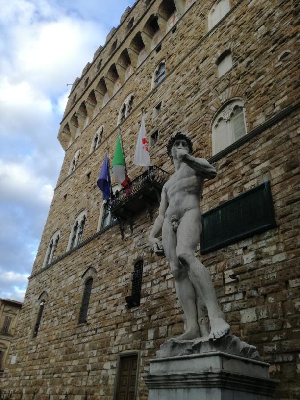 David di Michelangelo, Palazzo Vecchio