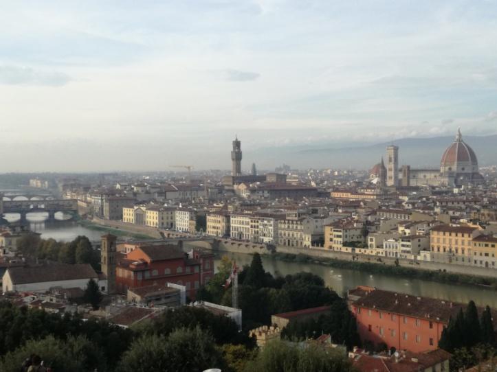 Piazzale michelangelo. La vista più fotografata di Firenze.
