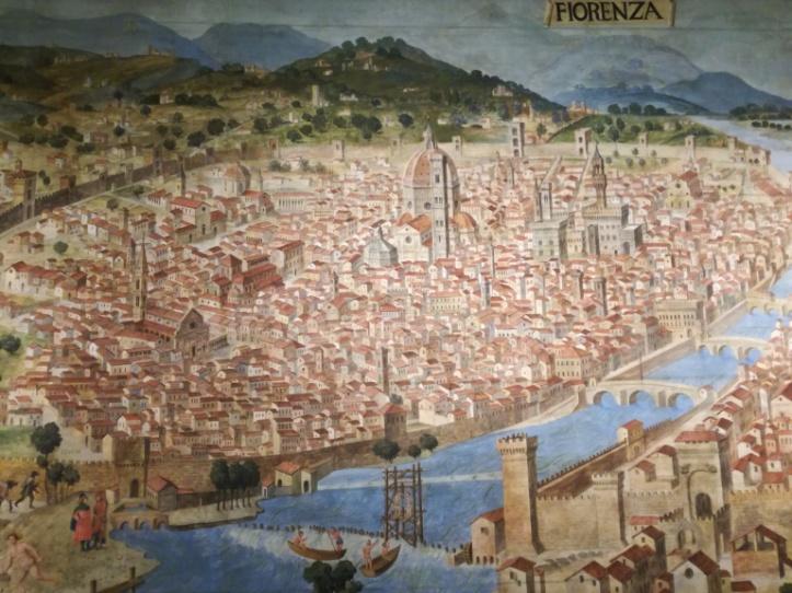 Rappresentazione della Firenze rinascimentale