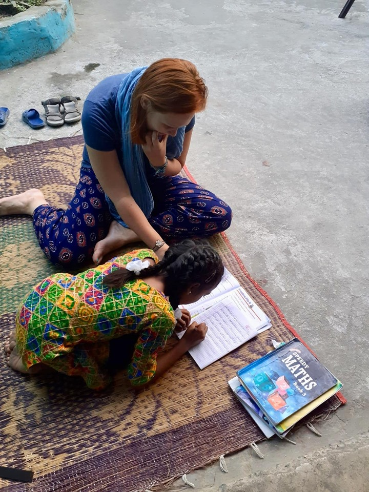 Volunteer English teacher in Nepal 1